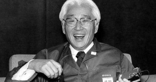 Стратегия успеха Акио Мориты, одного из основателей Sony 6