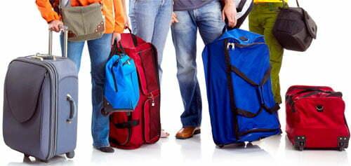 Ремонт сумки на колесиках