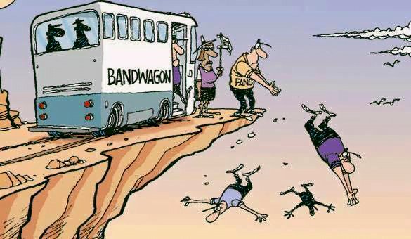 Бойтесь фургона, где едет оркестр