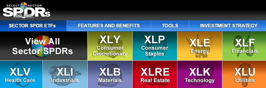 SPDR sectors